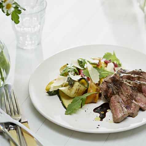 Beef Tagliata with Chargrilled Vegetables