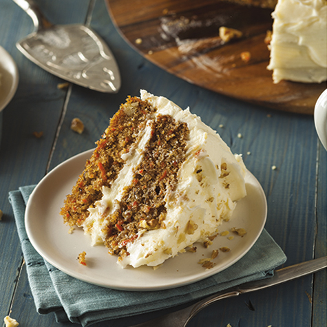 Carrot Cake with Mascarpone Icing