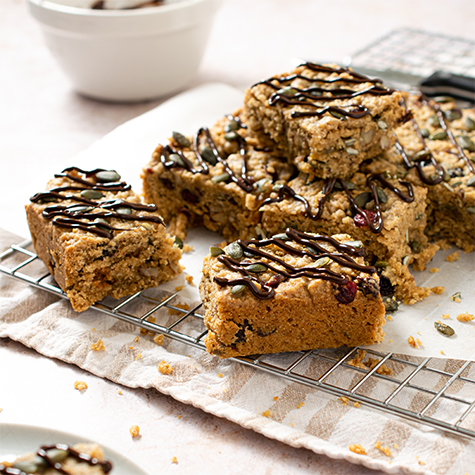 Vegan Fruit & Nut Maple Flapjacks